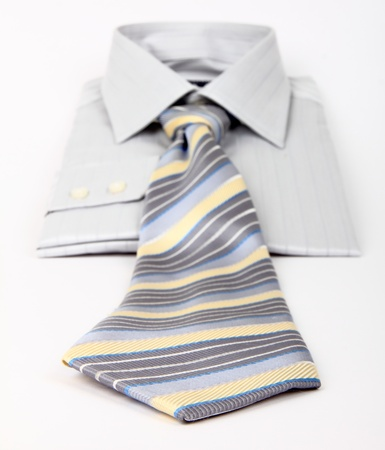 dry cleaning: Men skirt with tie