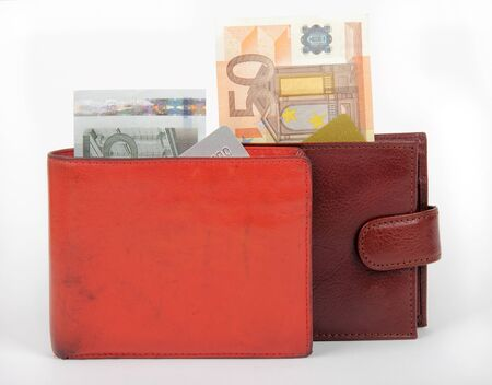 poor and rich wallets photo