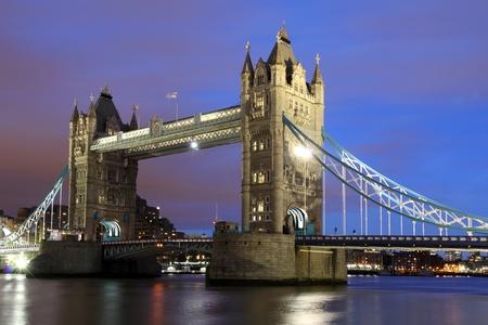 Tower Bridge,  London at Night