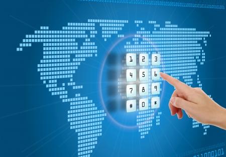 alarme securite: Concept de s�curit� et de protection dans Internet