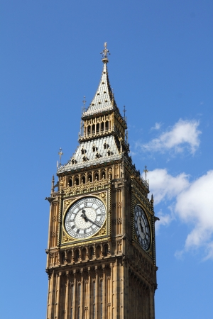 Big Ben, Houses of Parliament, Westminster Palace, London gothic architecture  photo