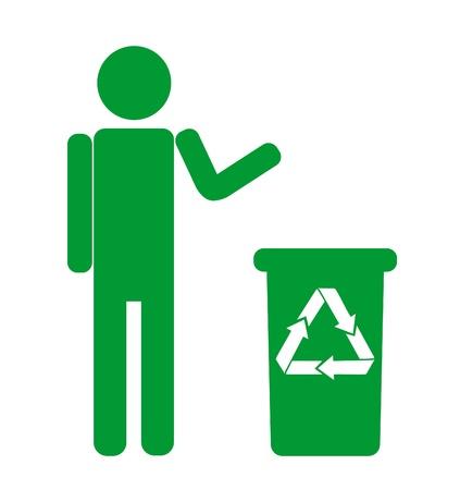 botar basura: No firme basura
