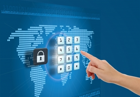 Concept of security and protection in Internet