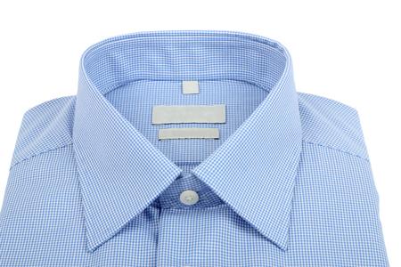 dry cleaned: nuova camicia a scacchi blu