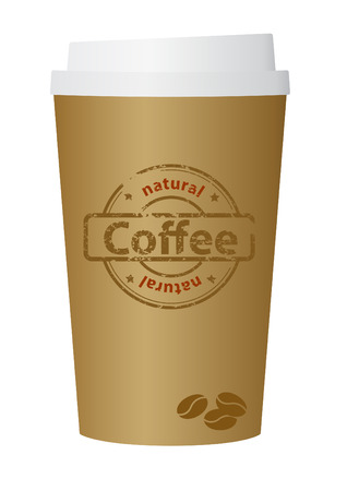 A coffee cup vector illustration Vector