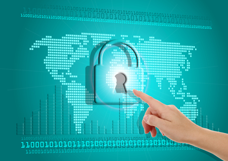 Security of information on the Internet photo