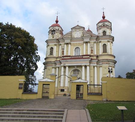 st peter: St. Peter and St. Pauls Church, Vilnius