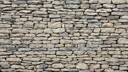 textured: Old stone wall texture