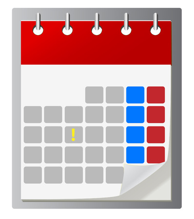 importantly: Calendar vector icon ,eps 10