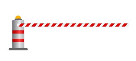openly: road barrier vector illustration , vector eps10