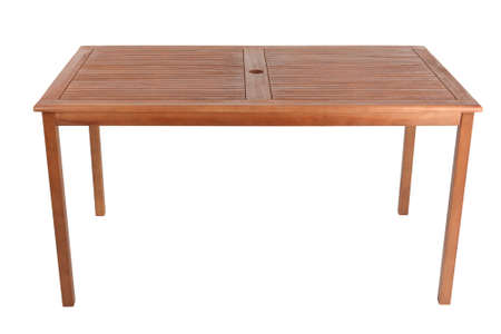 table: Wooden table