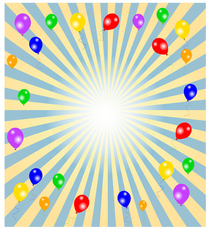 festive occasions: Party Background -colorful background, illustration