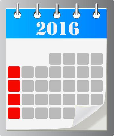 importantly: Calendar vector icon ,eps 10