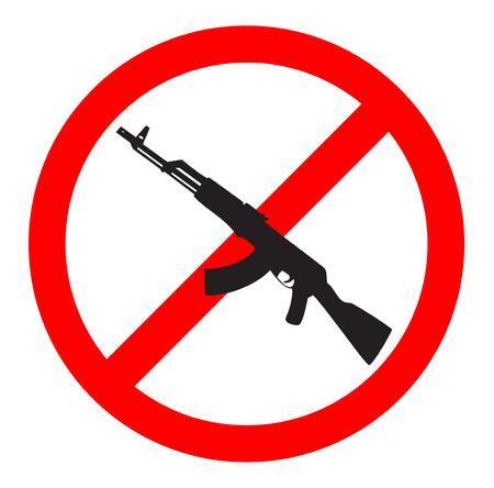 gun control: No Gun Sign and Symbol