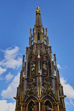 Norimberga, particolare デラ フォンタナ ベラ