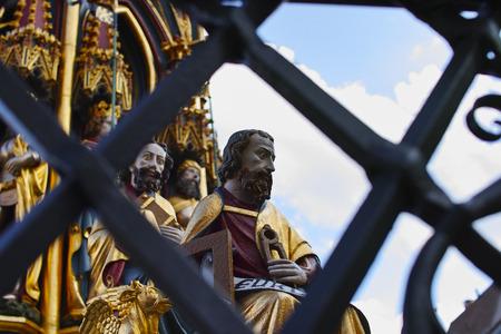 Norimberga, particolare della Fontana Bella
