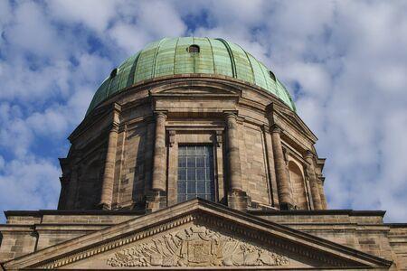 Norimberga, Chiesa di SantElisabetta Reklamní fotografie