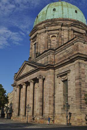 Norimberga, la cupola della Chiesa di SantElisabetta