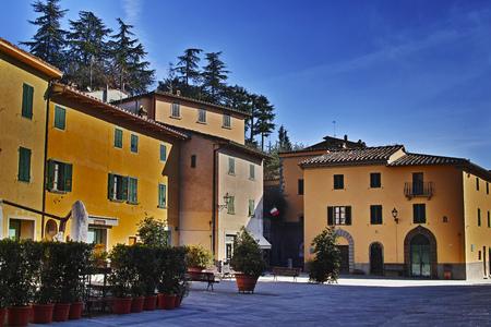 Gaiole in Chianti, vie Bettino Ricasoli