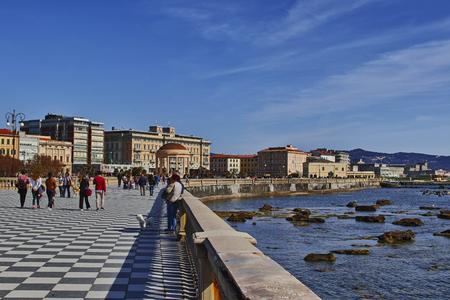 Livorno, veduta della Terrazza Mascagni