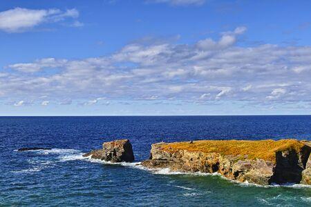 Port Isaac, Cornovaglia, paesaggio 스톡 콘텐츠