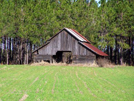 nostalgic barn Фото со стока