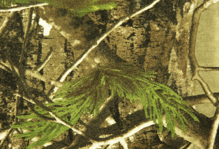 Interesting texture and background camouflage , textile ,military material.Interesting texture. Horizontal view.