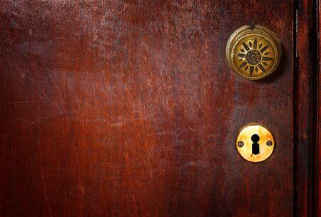 key holes: vintage door handle
