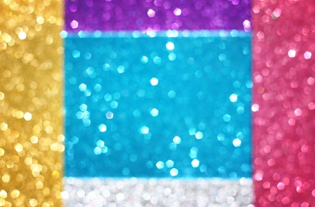 abstract colorful glitter bokeh lights  defocused lights background photo