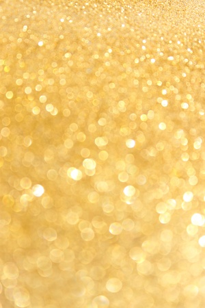 Gold spring or summer background  Elegant abstract background with bokeh defocused lights  photo