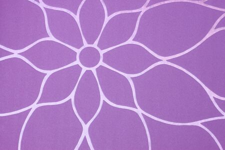 purple background with floral pattern  photo