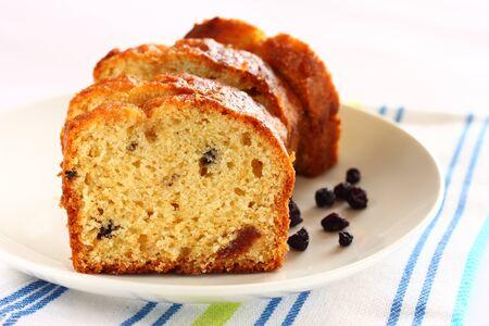 homemade cake: homemade cake on white background