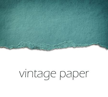 Vintage gescheurd papier kamer voor kopie ruimte Stockfoto - 21966979