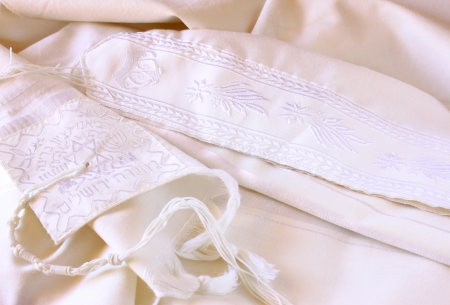 simbolos religiosos: Talis - Talit, s�mbolo religioso jud�o