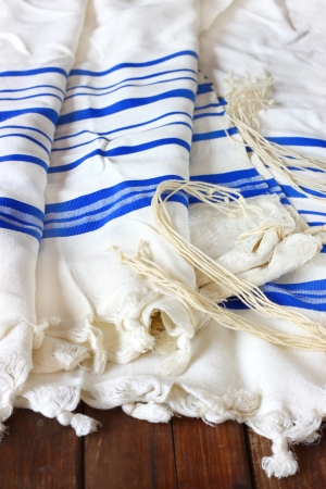 sabbath: Prayer Shawl - Tallit, jewish religious symbol