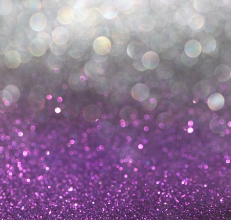 purple stars: white silver and pink abstract bokeh lights  defocused background   Stock Photo