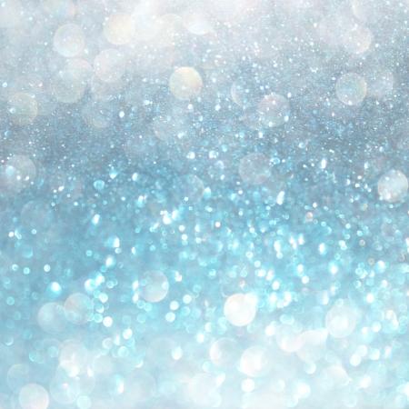 흰색, 파란색과 회색 추상 bokeh 조명 디 포커스 배경
