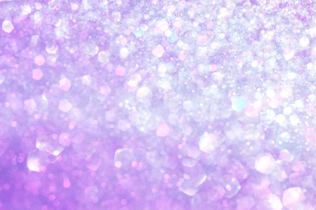 white silver and purple abstract bokeh lights  defocused background   Stock Photo