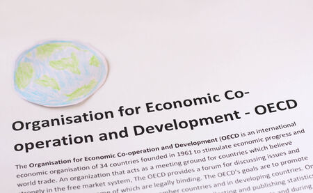 co operation: Organization for Economic Co-operation and Development  OECD  Stock Photo