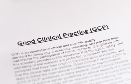 Good Clinical Practice  GCP   photo
