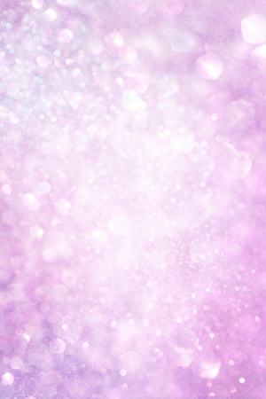 sparkles: white silver and pink abstract bokeh lights  defocused background   Stock Photo