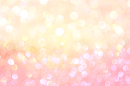 white and gold abstract bokeh lights defocused background