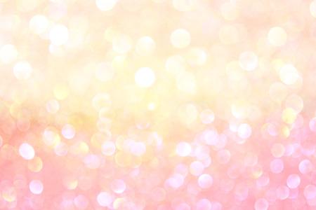 witte en gouden abstracte bokeh lichten onscherpe achtergrond