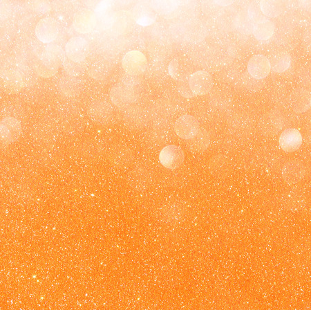 white silver and gold abstract bokeh lights  defocused background   photo