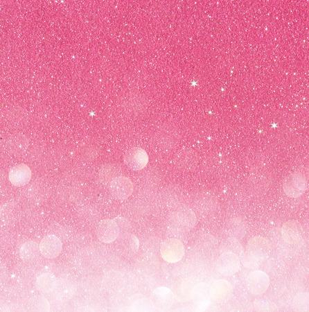 ピンクの多重ライト バック グラウンド抽象的なボケ ライト 写真素材