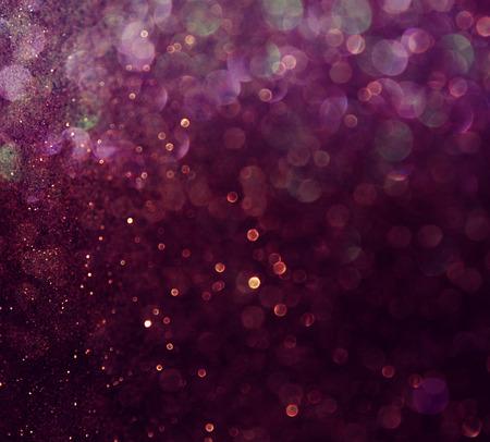 galaxie: Glitter vintage Lichter Hintergrund weiß und lila different Lizenzfreie Bilder