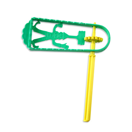 megillah: plastic noisemaker or gragger for purim celebration holiday (jewish holiday)