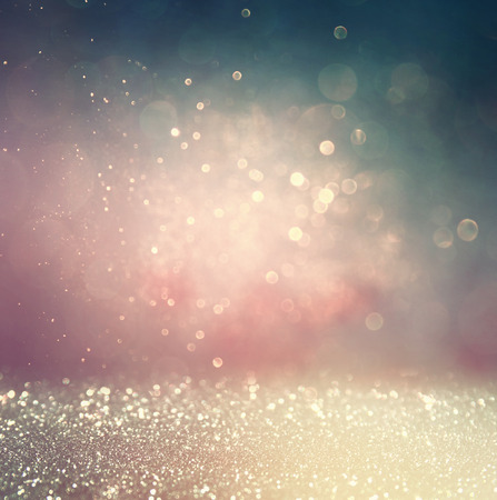 diamond background: abstract blurred photo of bokeh light burst and textures. multicolored light.