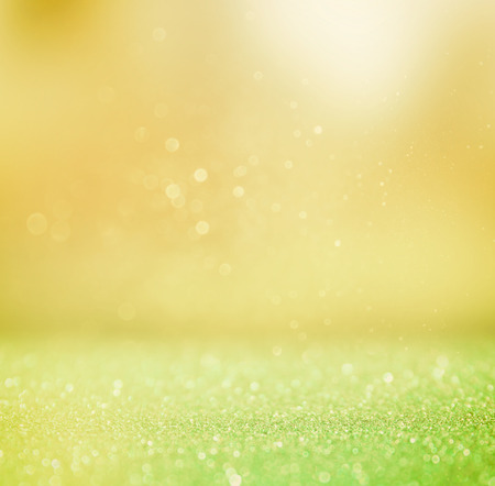 blurred abstract background of bokeh lights and textures photo