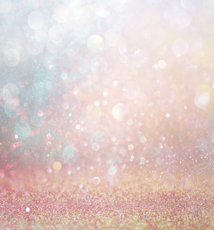 light abstract: abstract blurred photo of bokeh light burst and textures. multicolored light.